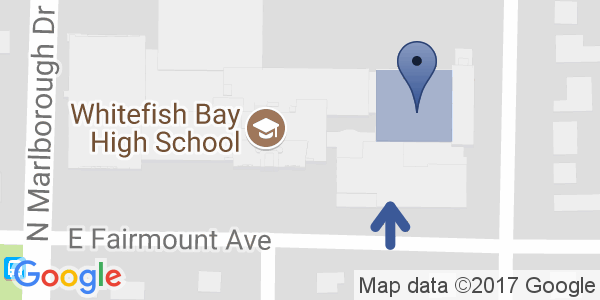 Google Map of Whitefish Bay High School Theater